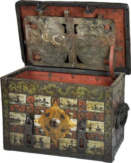 گاوصندوق قدیمی